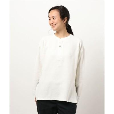 tシャツ Tシャツ 【TICCA】ヘンリーネックプルオーバー WOMEN