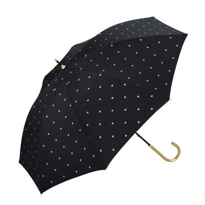 ダブルピーシー Wpc. ワールドパーティー W.P.C81 日傘 UV 晴雨兼用 2300 (81-30469.遮光Pハート_ブラック)