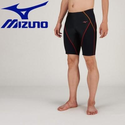 ミズノ 水泳 BGスイムハーフスパッツ フィットネス 水着 メンズ N2JB912196 返品不可