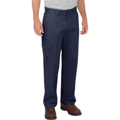 ディッキーズ DICKIES メンズ カーゴパンツ ワークパンツ ボトムス・パンツ Relaxed Fit Straight Leg Cargo Work Pants DARK NAVY