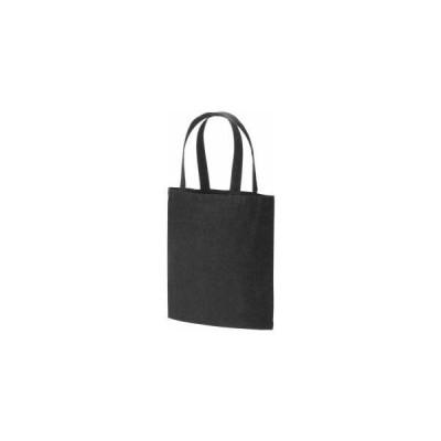 布製品 厚手コットンバッグヘビーウェイトLブラック 622-0141