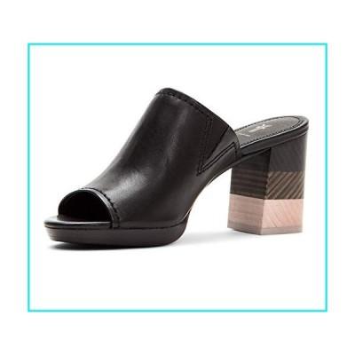 Frye Women's Blake Mule Flat Sandal, Black, 9 M US【並行輸入品】