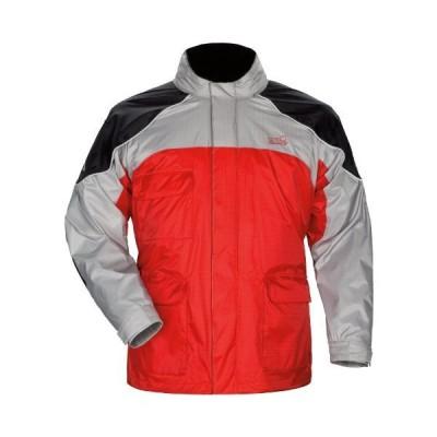 Tourmaster センチネル レインスーツジャケット 赤、XS