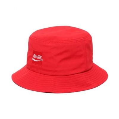 【アトモス ピンク/atmos pink】 COCA COLA by ATMOS LAB NYLON BUCKET HAT RED 19SS-S