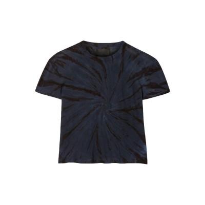 アールティーエー RTA T シャツ ダークブルー XXS コットン 95% / カシミヤ 5% T シャツ