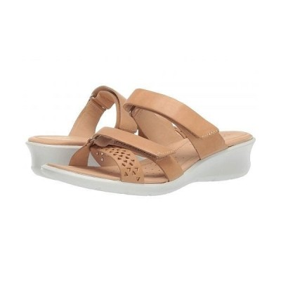 ECCO エコー レディース 女性用 シューズ 靴 ヒール Felicia Slide Sandal - Powder Cow Nubuck