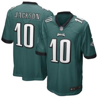 ナイキ メンズ Tシャツ トップス DeSean Jackson Philadelphia Eagles Nike Game Player Jersey Green