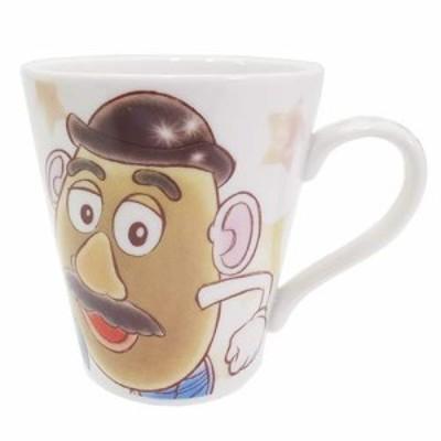 ◆トイストーリー ポテトヘッド 陶器製マグカップ ファジー柄  ディズニー(168)