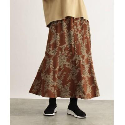 OZOC / オゾック [洗える]ボタニカルAラインマキシスカート