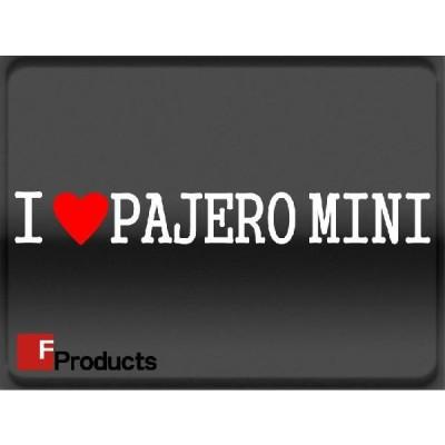 Fproducts アイラブステッカー/PAJERO MINI/アイラブ パジェロミニ