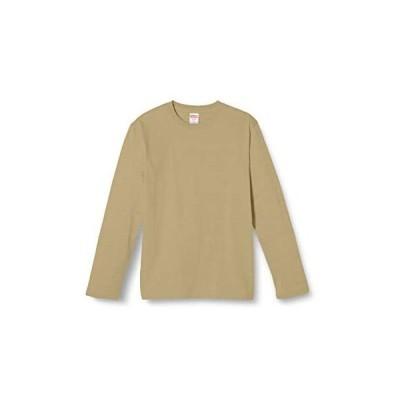 (ユナイテッドアスレ)UnitedAthle 5.6オンス ロングスリーブ Tシャツ 501001 [メンズ] (サンドカーキ M)