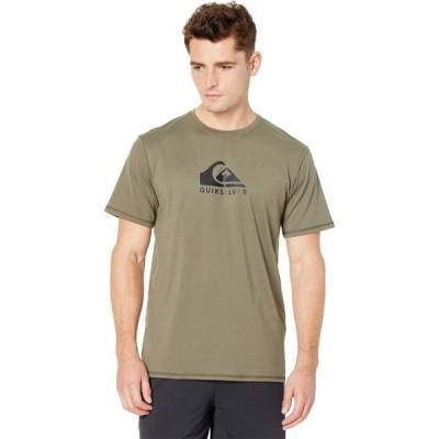 クイックシルバー Quiksilver メンズ Tシャツ トップス Solid Streak Short Sleeve Surf Tee Kalamata