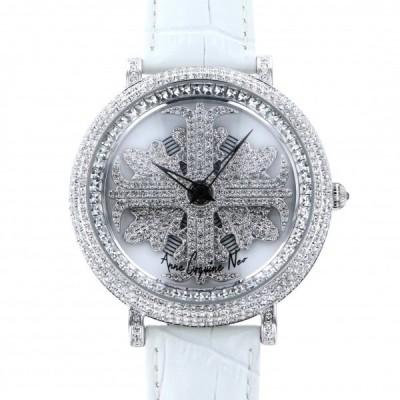 アンコキーヌ ネオ Anne Coquine Neo アルバ クリア M1-1A ホワイト文字盤 新品 腕時計 メンズ