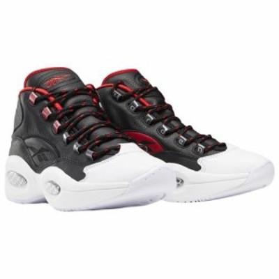 (取寄)リーボック メンズ シューズ クエスチョン ミッド 10 ハーデン Reebok Men's Shoes Question Mid X Harden Black White Scarlet