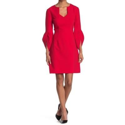 トリーナターク レディース ワンピース トップス Covelo Bell Sleeve Dress RIOJA