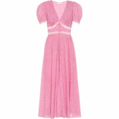ラブシャックファンシー LoveShackFancy レディース ワンピース ミドル丈 ワンピース・ドレス stacy loral cotton midi dress Monterey