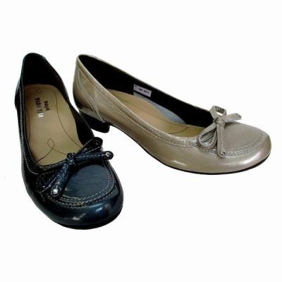 ビタノバ 日本製 VITA NOVA vita nova 4377 レディース 革靴 エナメル コンフォート 仕事履き 旅行靴 ローヒール SBUE SLE