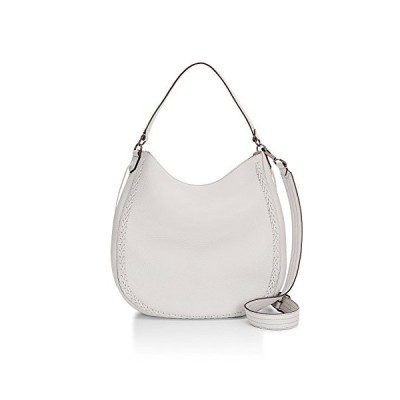 Rebecca Minkoff Unlined Convertible Hobo with Whipstich, Putty(海外取寄せ品)