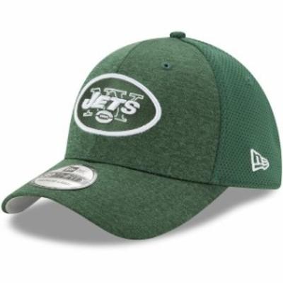 New Era ニュー エラ スポーツ用品  New Era New York Jets Green Shadowed Team 39THIRTY Flex Hat