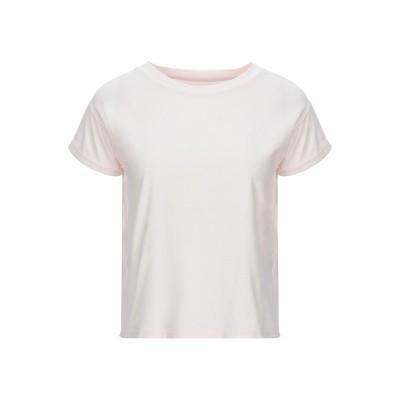 マジェスティック MAJESTIC FILATURES T シャツ ライトピンク 1 コットン 94% / ポリウレタン 6% T シャツ