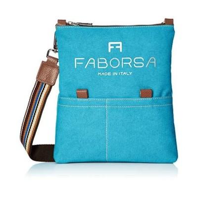 [ファボルサ] F8 Bag エフエイトバッグ マルチショルダーバッグ&ltイタリア製&gt F80002-174-008 スカイブルー