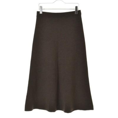 CINOH / チノ 20AW ニットフレアマキシ スカート