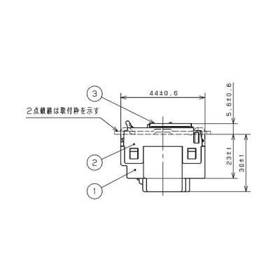 コスモワイド21 埋込スイッチ PL蛍 3路/WT50421
