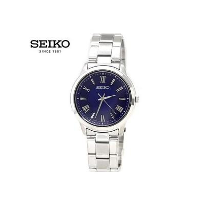 SEIKO セイコーセレクション SBPL009 メンズ 腕時計 ソーラー アナログ シルバー ブルー文字盤