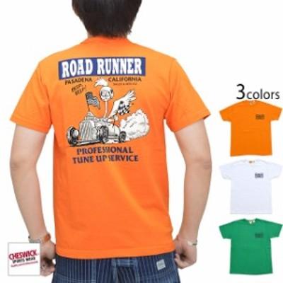 ROAD RUNNER半袖Tシャツ「PROFESSIONAL TUNE UP」 Cheswick CH78499 チェスウィック ロードランナー アメコミ