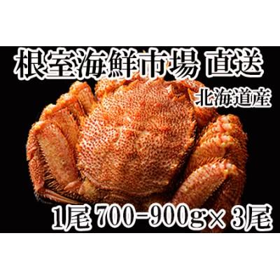 <12月6日決済分まで年内配送> ボイル毛がに700~900g×3尾 D-11004
