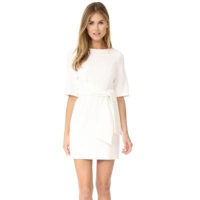 アリス アンド オリビア alice + olivia レディース ワンピース ラップドレス ワンピース・ドレス Virgil Boat Neck Wrap Dress Off White