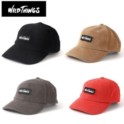 WILD THINGS ワイルドシングス キャップ CORDUROY BASEBALL CAP WT21147U メンズ レディース 帽子 コーデュロイ