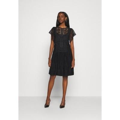 アルベルタ フェレッティ ワンピース レディース トップス DRESS - Day dress - black