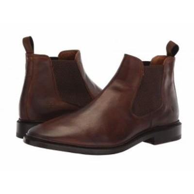 Frye フライ メンズ 男性用 シューズ 靴 ブーツ チェルシーブーツ Paul Chelsea Dark Brown Antique Pull-Up【送料無料】