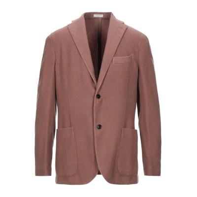 ボリオリ BOGLIOLI テーラードジャケット ブラウン 46 カシミヤ 100% テーラードジャケット