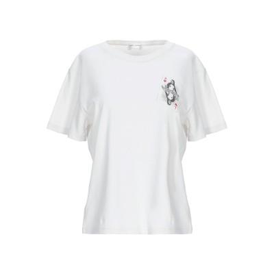 SAINT LAURENT T シャツ ホワイト XS コットン 100% T シャツ