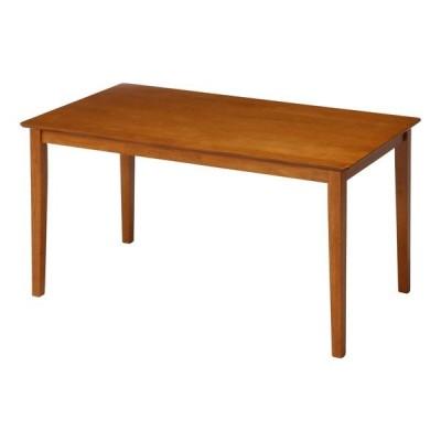 ダイニングテーブル おしゃれ 安い 北欧 食卓 テーブル 単品 モダン 机 会議用テーブル  ライトブラウン 幅120 奥行75 高さ70