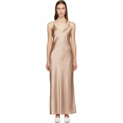 ジョゼフ Joseph レディース ワンピース ワンピース・ドレス pink silk clea dress
