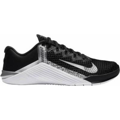 ナイキ レディース スニーカー シューズ Nike Women's Metcon 6 Training Shoes Black/Metallic Silver