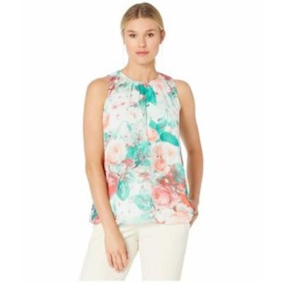 Calvin Klein カルバンクライン 服 一般 Pleat Neck Sleeveless Woven