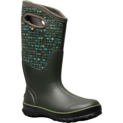 ボグス Bogs レディース ブーツ シューズ・靴 Classic Tall Boot Dark Green Twinkle Multi Rubber/Textile