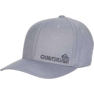 クイックシルバー Quiksilver メンズ キャップ 帽子 Sidestay Medium Grey Wash