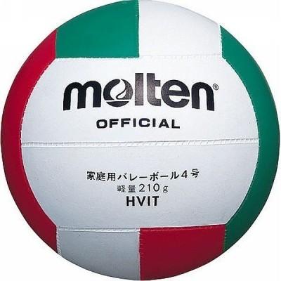 モルテン バレーボール軽量ゴム 12枚パネル軽量4号球 HVIT <2021CON>