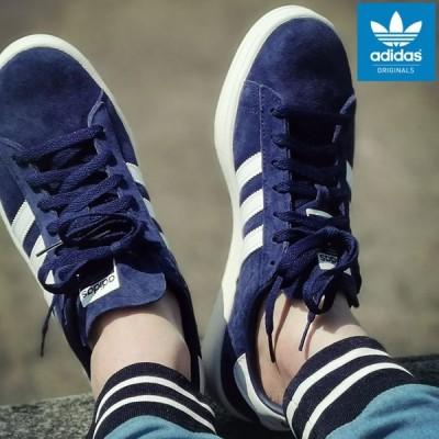 アディダス スニーカー adidas メンズ 男性用 キャンパス Dark Blue/White/Chalk White オリジナルス ( CAMPUS Originals ネイビー BZ0086 )
