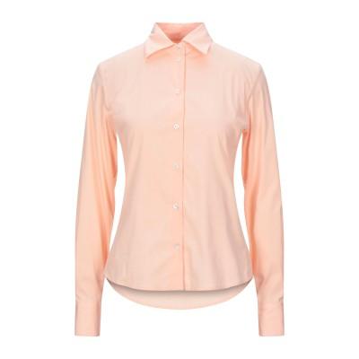 BOULE DE NEIGE シャツ サーモンピンク 42 コットン 72% / ナイロン 23% / ポリウレタン 5% シャツ