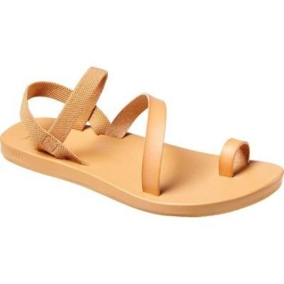 リーフ Reef レディース サンダル・ミュール シューズ・靴 Cushion Muse Toe Loop Sandal Natural Vegan Leather