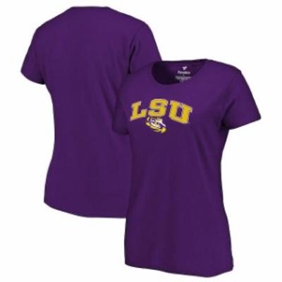 Fanatics Branded ファナティクス ブランド スポーツ用品  LSU Tigers Womens Purple Campus T-Shirt