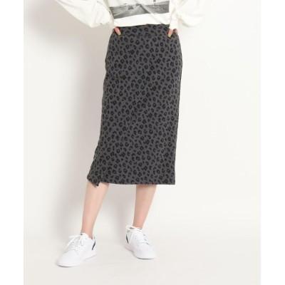 JET(ジェット) ◆【WEB限定サイズ】【ウォッシャブル】フロントデザインスウェットスカート