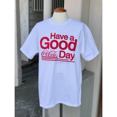 コカ・コーラ Tシャツ 全3色 4.8oz 半袖 トップス メール便対応 フルーツオブザルーム VT24