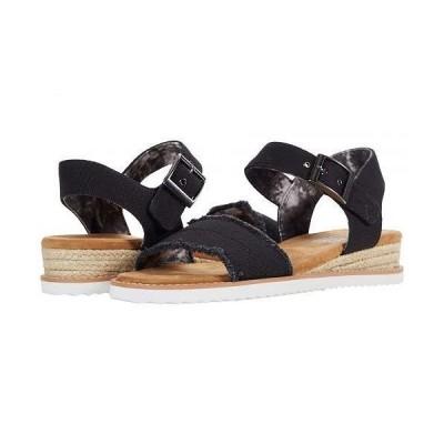 BOBS from SKECHERS ボブス スケッチャーズ レディース 女性用 シューズ 靴 ヒール Desert Kiss - Black